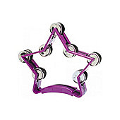 A-Star Star Tambourine - Purple