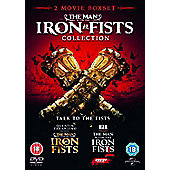 The Man with the Iron Fists 1&2 DVD