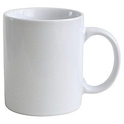 Tesco Beige Plain Stoneware Mug Single