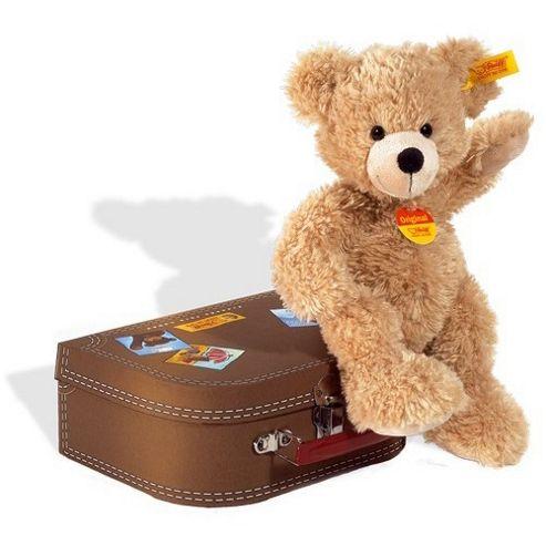Steiff Fynn Teddy Bear in Suitcase 28cm