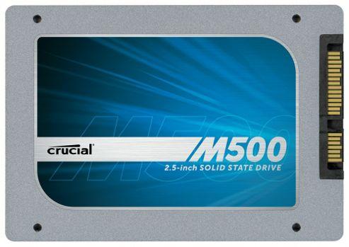 Crucial M500 (480GB) 2.5 inch Solid State Drive 6Gb/s SATA (Internal)