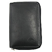 Tony Perotti Italian leather black zip around 6 key holder for men and women