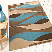 Sincerity Modern Contour Blue 120x170 cm Rug