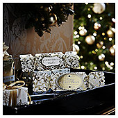 Luxury Gold Crackers Christmas Cards, 10 pack
