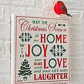 Christmas Wall Canvas - Christmas Decoration