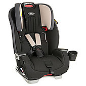 Graco Milestone All-In-One Car Seat Group 0+/1/2/3 – Aluminium