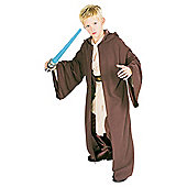 Rubies UK Deluxe Hooded Heavy Jedi Robe- M