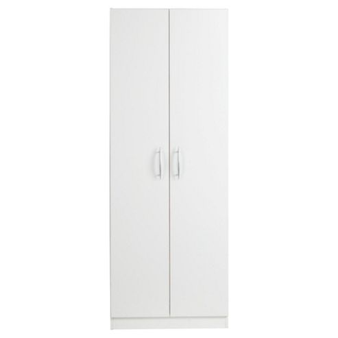Ashton Double Wardrobe, White