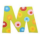 Tatiri Spots & Stripes Letter M (Spots)