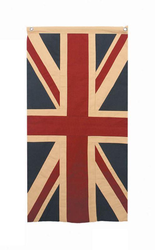 Woven Magic Union Jack Patriotic Duck Flag