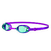 Speedo Jet Junior Kids UV Anti Fog Swimming Goggles - Pink/Turquoise