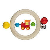 Heimess 735980 Wooden Ring Rattle (Vehicles)