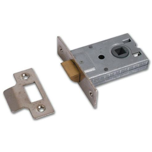 Legge 3708 & 3709 Mortice Latch - 64mm NP Bagged - 3708 Nickel Plated Finish