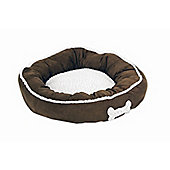 Petmate Round Dog Bed in Assorted
