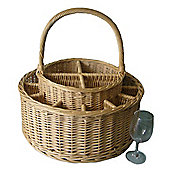 Wicker Valley Garden Party Basket