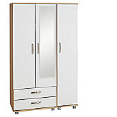 Ideal Furniture Regal 2 Drawer Wardrobe