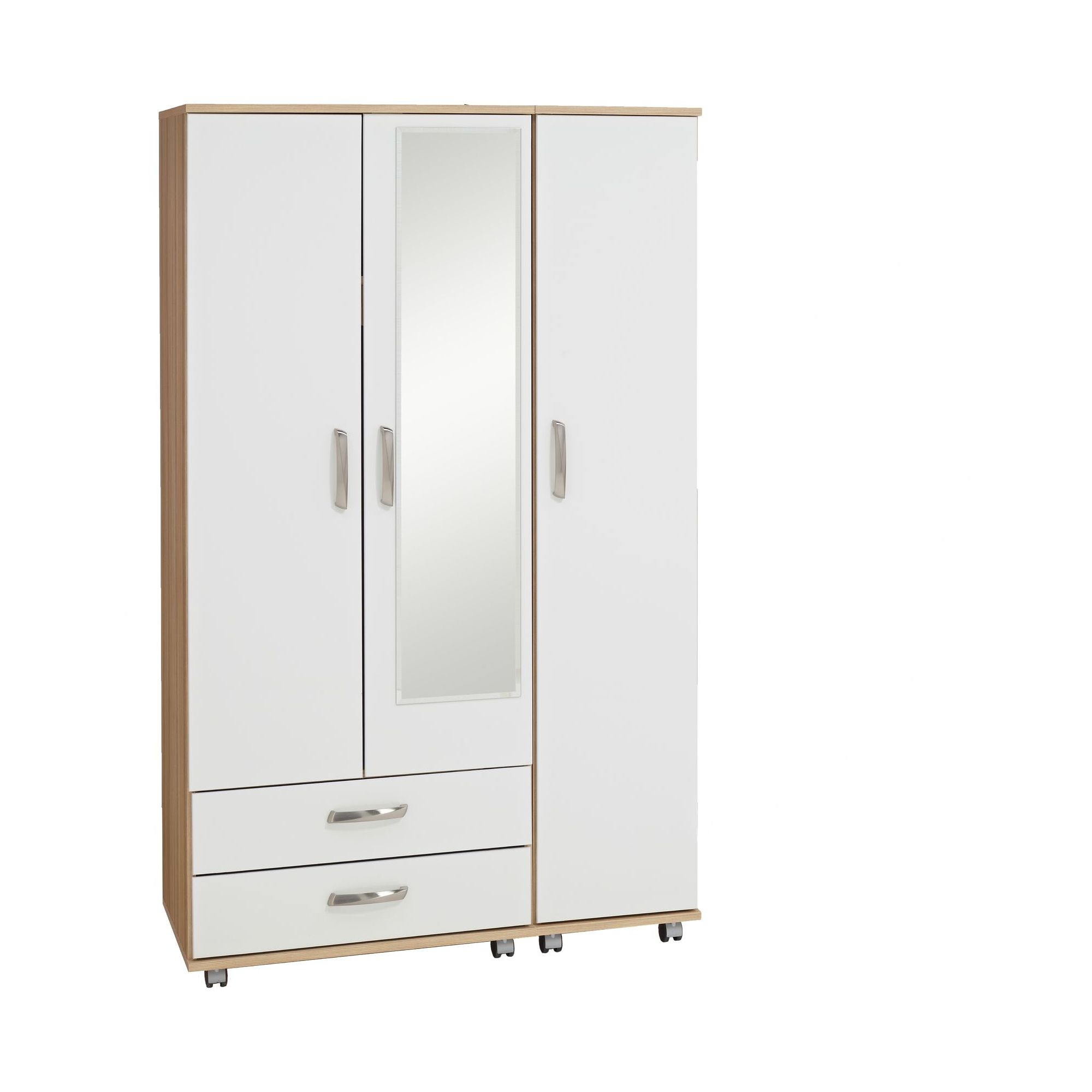 Ideal Furniture Regal 2 Drawer Wardrobe in white at Tescos Direct