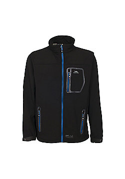 Trespass Mens Amherst Softshell Jacket - Black