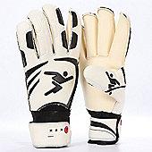 Precision Goalkeeping Vortex Classic Contact Rollfinger Goal Keeping Gloves 10H
