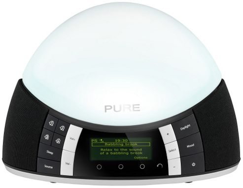 PURE TWILIGHT DAB/FM RADIO AND LIGHT