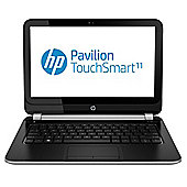 "HP Pavilion e-001sa, 11.6"" Touchscreen Laptop, AMD A4, 8GB RAM, 500GB - Black"