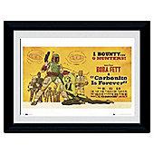 Star Wars Boba Fett Framed Print, 30x40cm