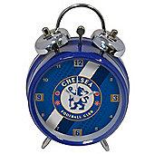Chelsea FC Stripe Mini Bell Alarm Clock