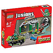LEGO Juniors Turtles Lair 10669