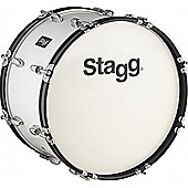Stagg Marching Bass Drum with Beater - 26 x 12 Inch