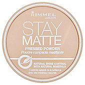 Rimmel Matte Pressed Powder Transparent