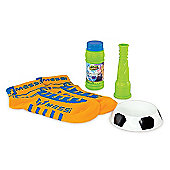 Messi Footbubbles Starter Pack With Socks - Orange