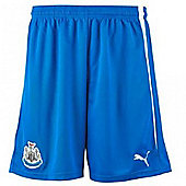 2013-14 Newcastle 3rd Football Shorts - Blue