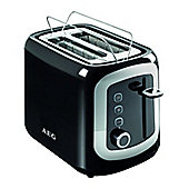 AEG AT3300 900W 2 Slice Toaster in Black