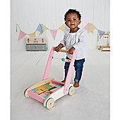 ELC Pink Wooden Toddler Truck