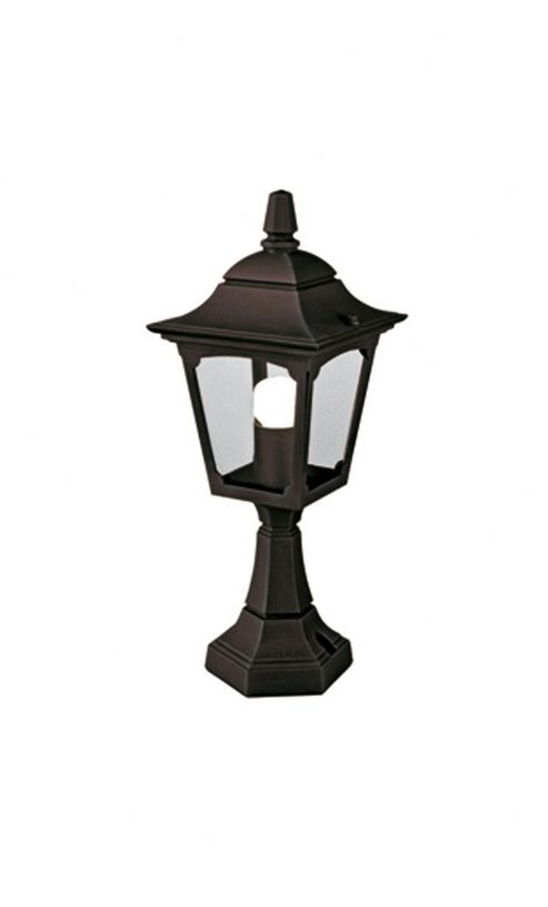 Elstead Lighting Chapel Mini Pedestal Lantern - Black