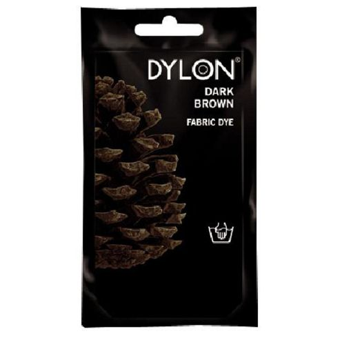 Dylon Fabric Dye - Hand Use - Dark Brown