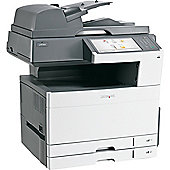 Lexmark X925DE A3 Multi Function Laser Printer (Colour) Duplexed+Networked (Print/Copy/Fax/Scan) 600 x 600 dpi 1536MB 31ppm (Mono) 31ppm (Colour) 150