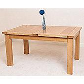 Seattle Solid Oak 150 cm Extending Dining Table