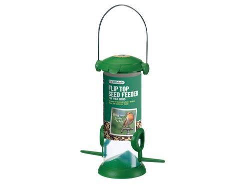 Gardman A01234 Flip Top Seed Feeder