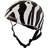 Kiddimoto Helmet -Zebra - Small