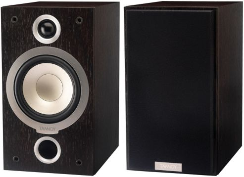 TANNOY MERCURY V1 SPEAKERS (PAIR) (DARK WALNUT)