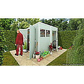 BillyOh 5000 Gardeners Haven 8 x 6 Premium Tongue and Groove Pent Shed