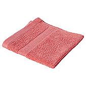 Pure Cotton Facecloth Coral
