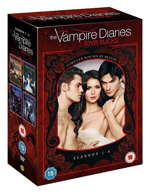 Vampire Diaries - Series 1-4 - Complete (DVD Boxset)