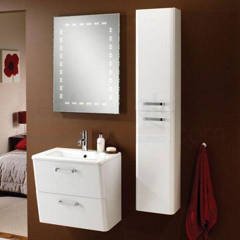 buy hib palamas tall storage unit white 1500mm high x