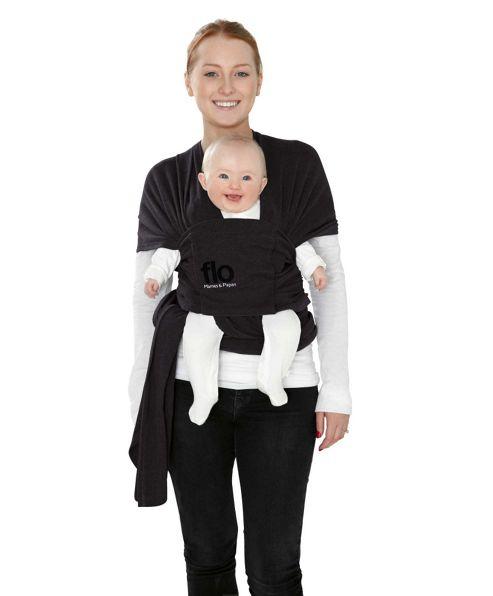 Mamas & Papas - Flo Baby Wrap - Black Jack