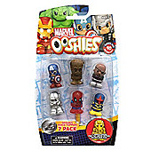 """Ooshies """"Marvel Series 1"""" Action Figure (Pack of 7) - Set 2"""