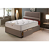 Vogue Beds Vogue Memory Pocket New Windsor Platform Divan Bed - King / Without Drawer