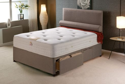 Buy vogue beds vogue memory pocket new windsor platform for King size divan bed without mattress
