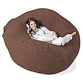 Lounge Pug™ Mega Mammoth Cord Bean Bag - Mocha